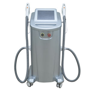 2 Handle Pieces High Speed Shr IPL Hair Removal Machine with FDA Approved pictures & photos