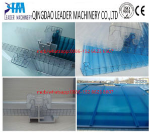 PC Hollow Structure Board Extrusion Line pictures & photos