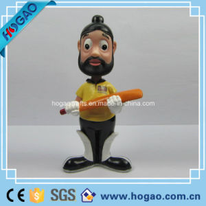 OEM Resin Bobble Headcartoon Figurine (HG054) pictures & photos