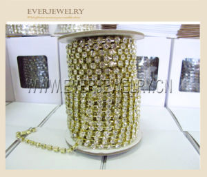 Bling Bling Rhinestone Cup Chain for Wedding Dress, Wholesale Crystal Glass Fancy Rhinestone pictures & photos
