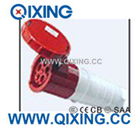 Cee/IEC 32A 5p 400V Red IP67 Waterproof Industrial Plug pictures & photos