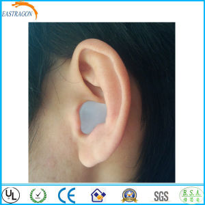 Custom Silicone Gel Mud Swimming Ear Plugs pictures & photos