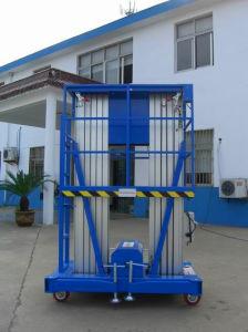 Aluminium Aerial Work Platform / Double Masts Aerial Work Patfrom /Work Platfrom pictures & photos