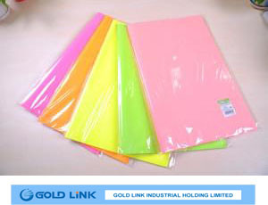 Color Fluorescent Paper for Gift Wrapping pictures & photos