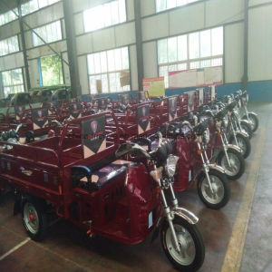 200cc Water Cooled Gasoline & Electric Hybrid Cargo Tricycle pictures & photos
