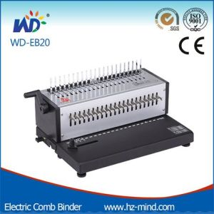 (WD-EB20) Office Binding Machine Comb Binding Machine pictures & photos
