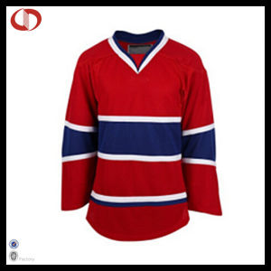 Custom Cheap Hockey Jersey Long Sleeve for Men pictures & photos