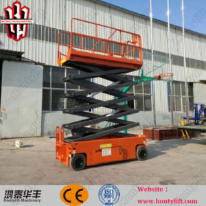 8m Factory Direct Sale High Quality Self-Propelled Scissor Lift with Low Price pictures & photos