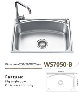 Stainless Steel Kitchen Sink Ws7050-B