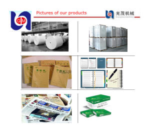 Office Copy Paper Machine, Paper Mill for Jumbo Roll pictures & photos