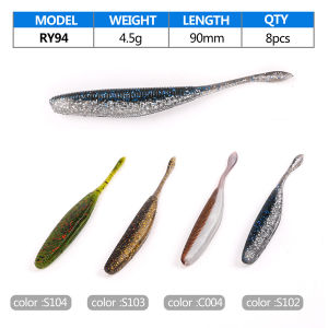 New High Quality Low Price Soft Fishing Lure pictures & photos
