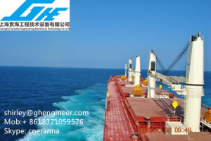 35t Bulk Cargo Marine Deck Crane ABS pictures & photos