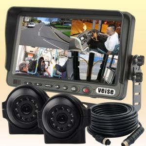 Quad Load Dump Monitor Reversing Camera System for Heavy Truck pictures & photos