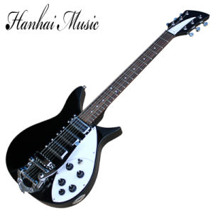 Hanhai Music / Ricken Style Black Electric Guitar with 6 Strings pictures & photos