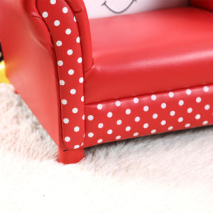 Girl Toddler Upholstered Arm Chair Sofa pictures & photos