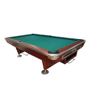 9′ Professional Ball Return System Billiard Table with Slate (PT9005) pictures & photos