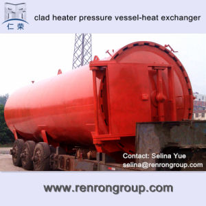Titanium Clad Heater Pressure Vessel-Heat Exchanger E-12