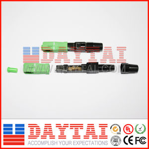 Sc/APC Fiber Optic Fast Connector pictures & photos