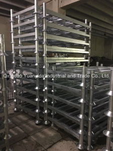 Post Stackable Heavy Duty Hot Galvanized Warehouse Steel Pallets pictures & photos