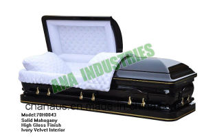 Solid Wood Casket (ANA) for Funeral Services pictures & photos