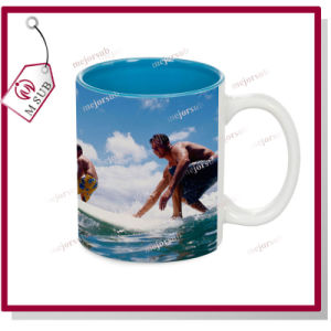 11oz Sublimation Inner Color Ceramic Mug for Promotional Gift pictures & photos