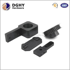 Black Anodized Aluminum CNC Machine Parts with Good Service pictures & photos