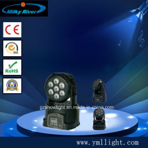 7*10W 4in1 LED Mini Wash Moving Head Light pictures & photos