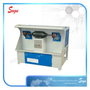 Box Type Dust Collecting and Grinding Wheel Edging Buffing Machine (Two heads) pictures & photos