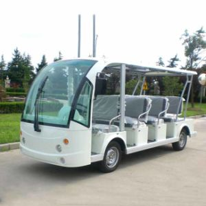 CE Certificated Electric Shuttle Bus 11 Seats From China Dn-11 pictures & photos