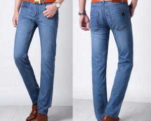 2015 Hot Wholesale Straight Jeans Pants for Men pictures & photos