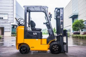 Un 2.0t LPG Forklift with Cushion Tyres pictures & photos