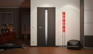 Residential Frame Insect Proof Solid Wood Interior Door Prices pictures & photos
