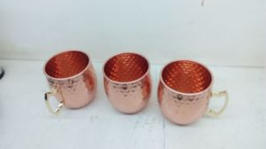 Moscow Mule Stainless Steel Copper Drinking Mugs Dn-903A pictures & photos