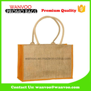 Factory Recycle Cheap Jute Hemp Lady Beach Tote Bag pictures & photos