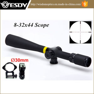 Tactical 8-32X44 Ao Mil-DOT Side Wheel Focus Hunting Rifle Scope pictures & photos