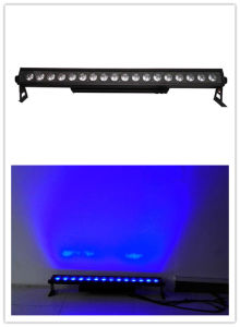 Outdoor DMX512 18*15W Rgbwauv 6 in 1 LED Wall Washer Light pictures & photos