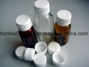 60ml Amber Glass Syrup Bottle with PP 28mm Pilfer Proof Cap pictures & photos