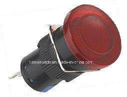 Mini Lamp Mushroom Push Switch pictures & photos