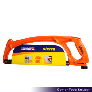Professional Aluminium Handle Heavy Duty Good Quality Hacksaw Frame (T09117) pictures & photos