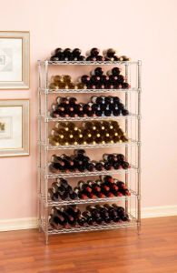 Free Standing Adjustable Commercial Iron Wine Cellar Rack, NSF Approval pictures & photos
