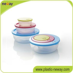 Multi-Usage Valley Cartoon Sweet Gift Microwave Plastic Food Case Box Container Sets pictures & photos