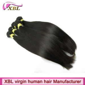 Factory Wholesale Virgin Straight Peruvian Hair pictures & photos