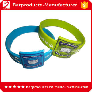 High Quality Promotional Silicone Bracelet with Personalized Logo