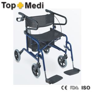 Top Sale Combination of Wheelchair and Rollator Design for Older pictures & photos