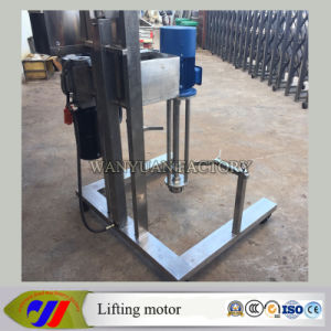 Hydraulic Lift High Speed Dispersing Mixer Mulsion Motor pictures & photos