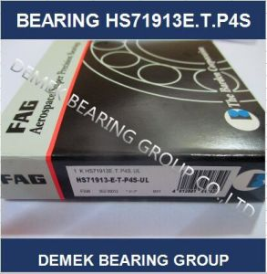 High Precision Spindle Angular Conatact Ball Bearing HS71913-E-T-P4s-UL pictures & photos