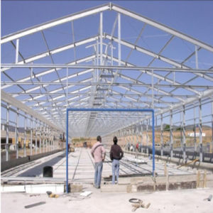 High Quality Solid Large Space Steel Structure Warehouse pictures & photos
