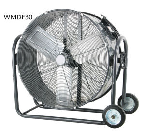 30 Inch Industrial Rolling Floor Drum Fan, High Volume Fan, High Velocity Fan for Shop Factory Garage Patio Basement pictures & photos
