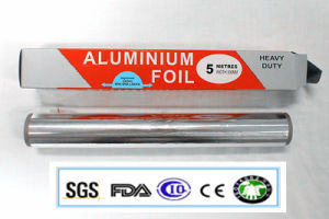 Household Alloy with 8011 O Temper 0.011*305 Aluminum Foil Roll pictures & photos