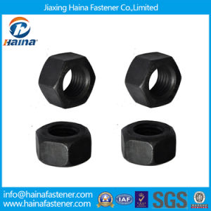 ASTM A563 Grade C Black Heavy Hex Nuts pictures & photos